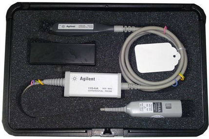 AGILENT 1154A DIFFERENTIAL PROBE, 500 MHZ, 10X GAIN